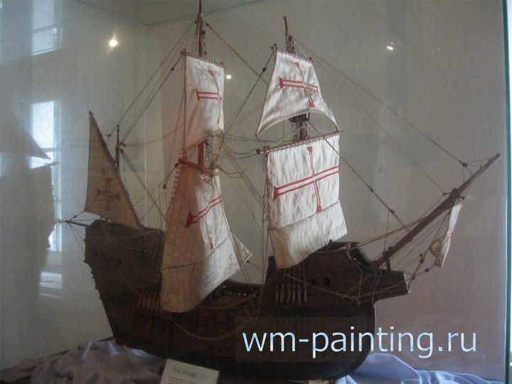 Исторический музей Джакарты, Португальский «нау», модель