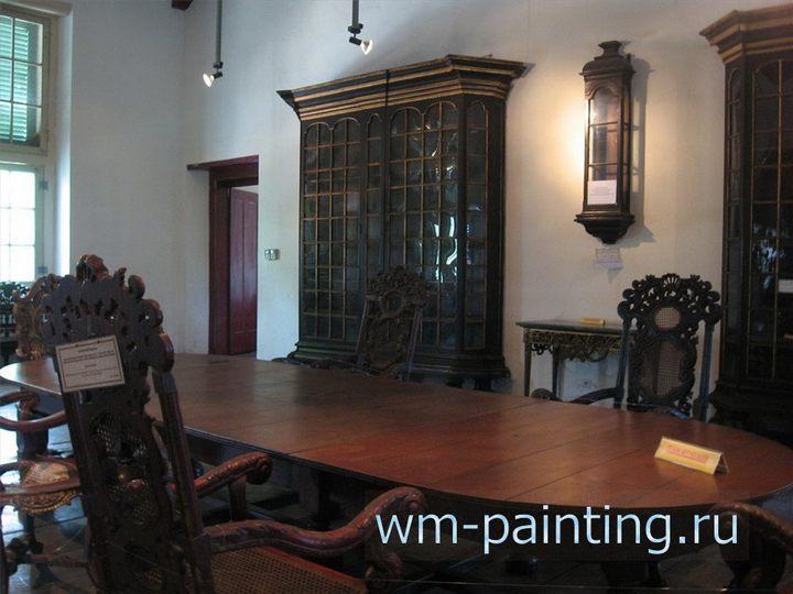 Исторический музей Джакарты, В музее полностью сохранена историческая обстановка зала для судебных заседаний