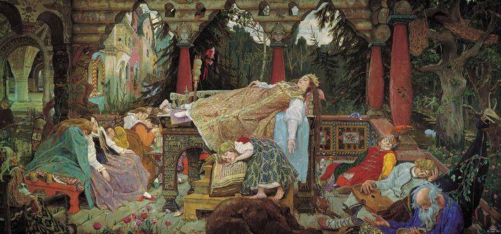 картина Спящая царевна :: Васнецов В.М. - Разное фото