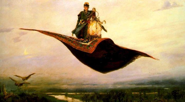 картина Ковёр-самолет :: Васнецов В.М. - Разное фото