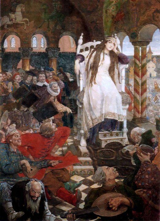 картина Несмеяна-царевна :: Васнецов В.М. - Разное фото
