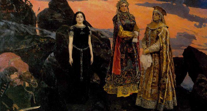 Васнецов Виктор Михайлович. картина «Три царевны подземного царства» - Разное фото
