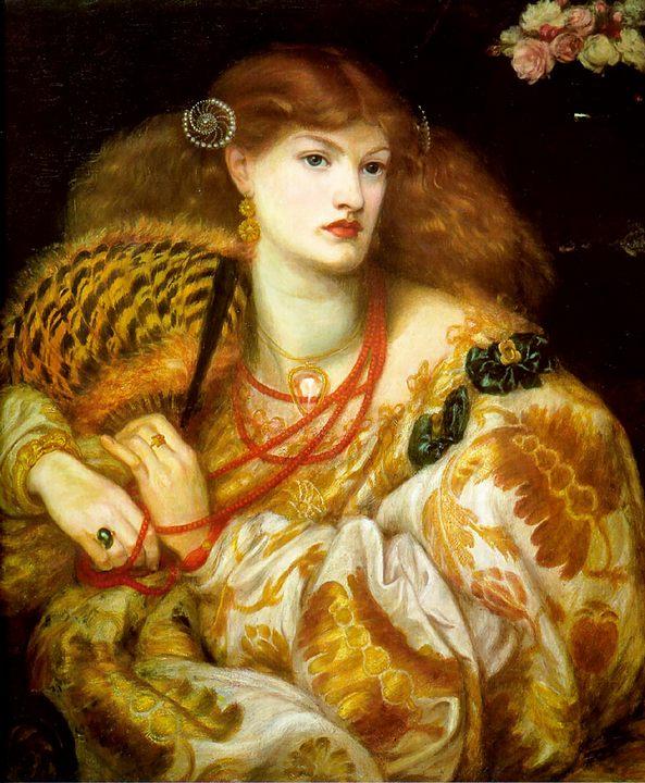 портрет юной девушки в богатых одеждах (Monna Vanna) :: Данте Габриэль Россетти - Разное фото