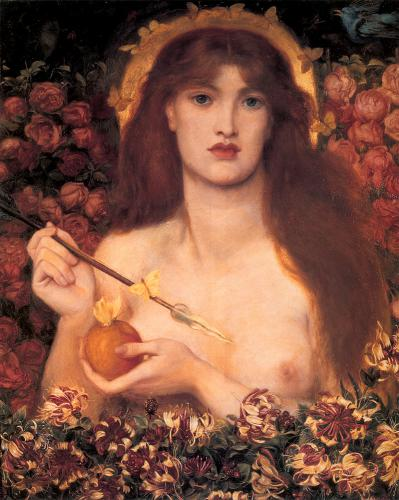 картина Венера Verticordia :: Данте Габриэль Россетти  - Разное фото
