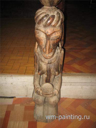В коллекции музея собраны произведения современной ритуальной скульптуры батаков
