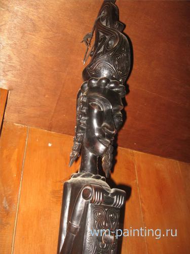 Красавица Паруджар. Современная скульптура.