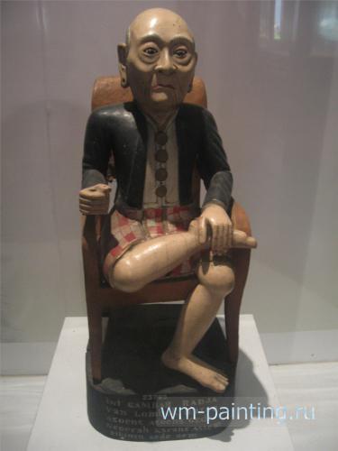 Статуя короля государства на острове Ломбок (Царство Чакренегара) по имени Анак Агун-агунг Геде Нгурах Крангасем. В 1894 году го