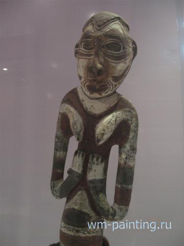 Корвар – деревянная статуя предка. Папуа.