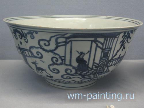 Традиционный китайский фарфор. Династия Мин.