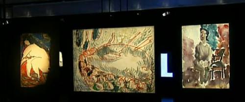 В Москве в новом манеже открылась уникальная выставка работ свободного художника-экспрессиониста шестидесятых Анатолия Зверева