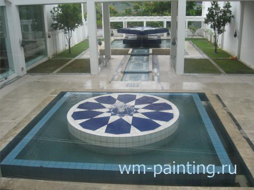 Музей искусства Ислама. Куала-Лумпур. Внутренний двор