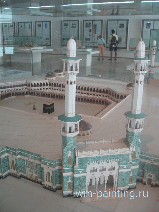 Мечеть Аль Харам. Мекка. Саудовская Аравия. VII век. (I век Хиджра).