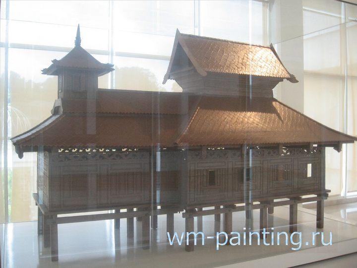 Мечеть Вади Хусейн. 1621 год. Паттани, Тайланд.  Музей искусства Ислама.