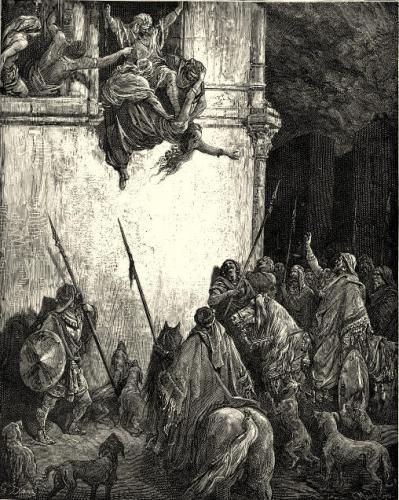 картина, графика - Смерть царицы Иезавели   - Гюстав Доре - Разное фото