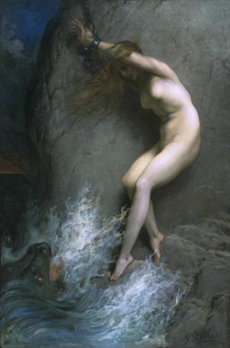 Иллюстрация - «Андромеда» - Гюстав Доре - Разное фото