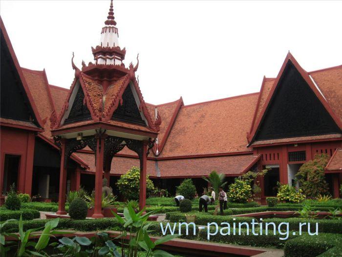 Национальный музей Камбоджи. Пномпень