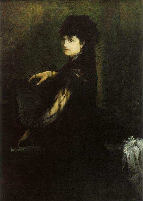 картина Амалия Макарт за фортепиано :: Ганс Макарт - Разное фото