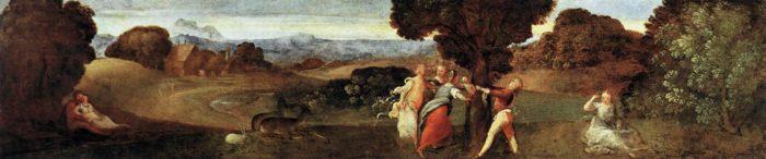 Рождение Адониса :: Тициан - Разное фото
