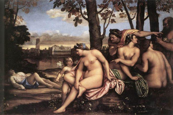 Картина Смерть Адониса, Себастьяно дель Пьомбо