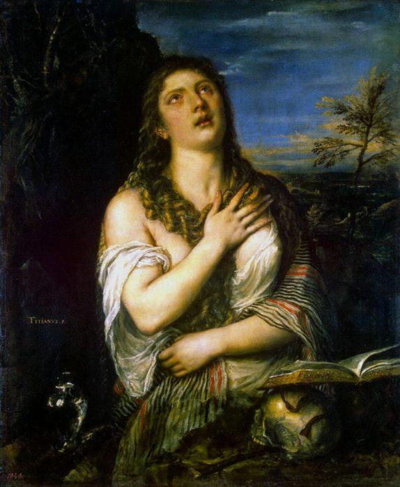 картина Кающаяся Магдалина, Тициан