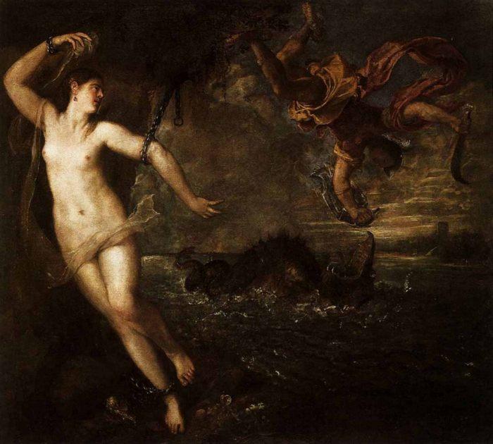Персей и Андромеда, Тициан