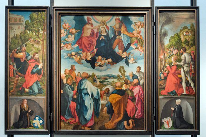 «Алтарь Геллера» («Алтарь Вознесения Марии») — алтарный образ (триптих) Альбрехта Дюрера и Маттиаса Грюневальда