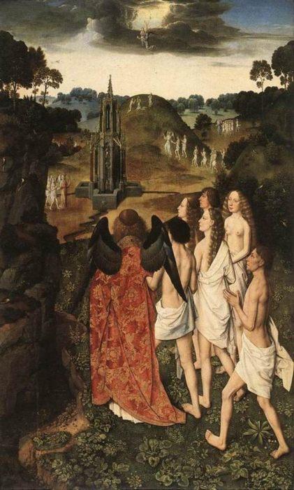 картина Рай, 1450 :: Баутс Дирк (Тьерри) - Разное фото