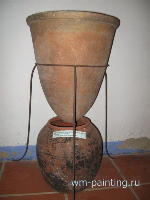 Сосуд для изготовления сахара. Куанг Нгай,  XX век.