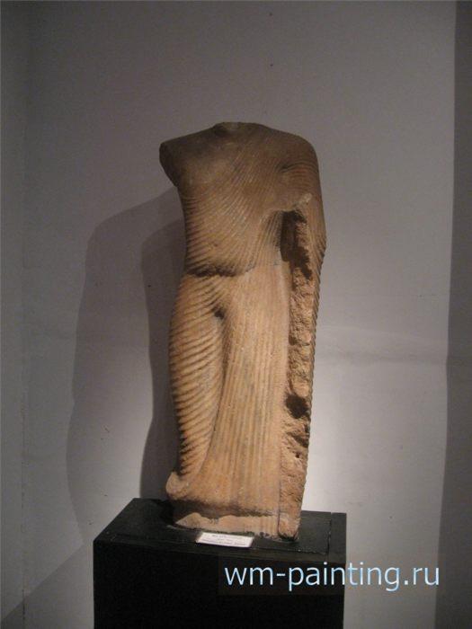 Статуя Будды. Тиссамахарама. VII - IX в.в. - Коломбо. Национальный Музей, Шри-Ланка.