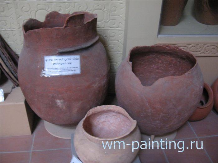 Керамика культуры Са Хюинь - Музей и центр культуры народа Чам, Вьетнам