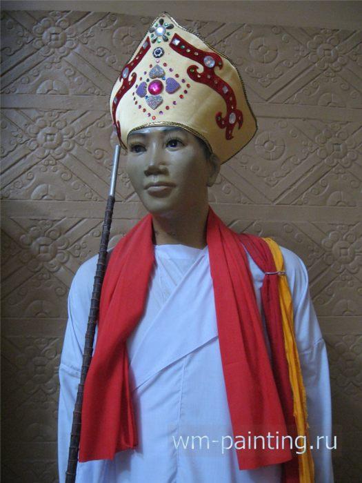 Национальный костюм религиозного лидера народности Чам Баламон.