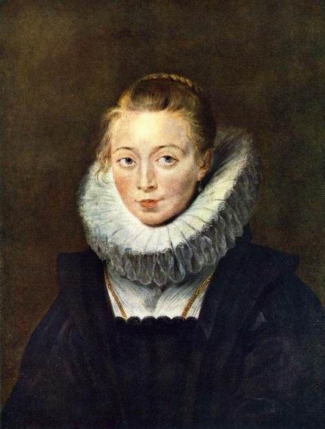 Портрет камеристки, картина Рубенса