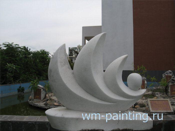 Музей города Дананг - Нгуйен Ван Кыонг. Жемчужина. Скульптура.