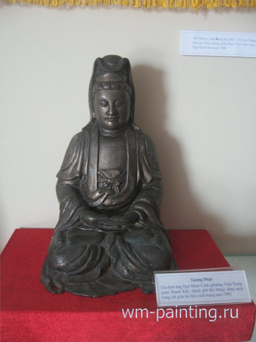 Статуэтка Будды. Дар музею от семьи Господина Нго Минь Кань. XX в.