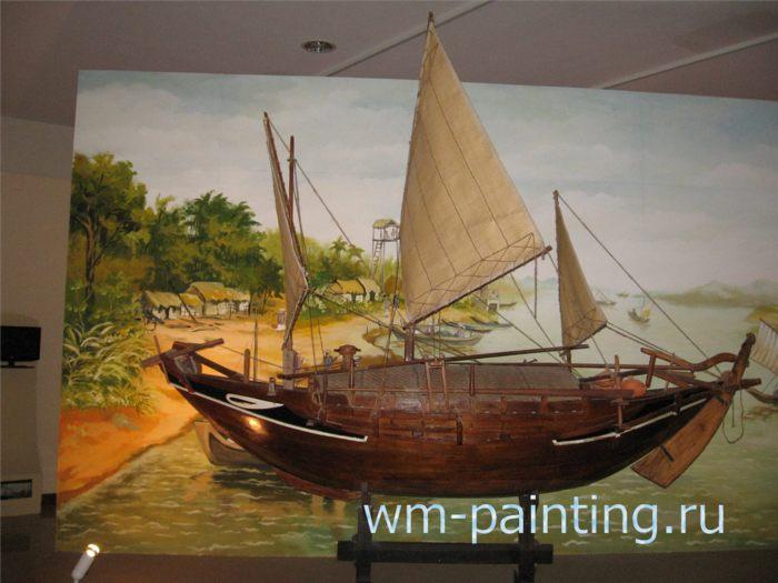Макет парусного судна XIX в - Вьетнам.