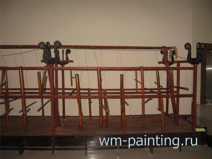 Музей города Дананг - Водный музыкальный инструмент народности Седанг.