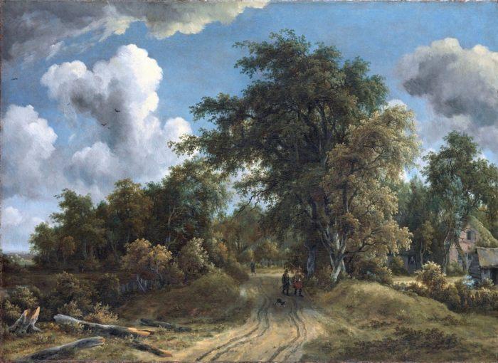 Значительной особенностью голландского искусства было существенное превалирование во всех его видах живописи.<span id=