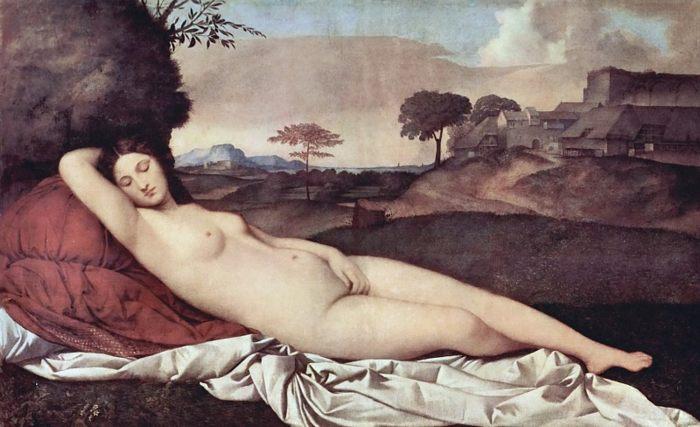 Спящая венера :: Джорджоне, описание картины - Разное фото