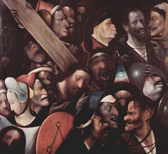 картина Несение креста Иероним Босха, Музей изящных искусств в Генте