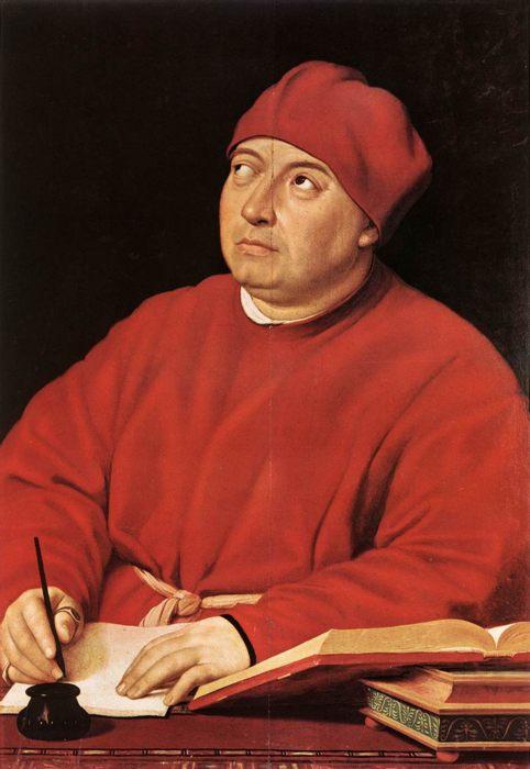 Рафаэль «Портрет Томмазо Ингирами»,  Галерея Палатина (Палаццо Питти) - Разное фото