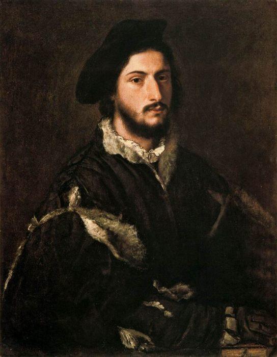 Тициан «Портрет Винченцо Монти», 85 x 67 см    - Разное фото