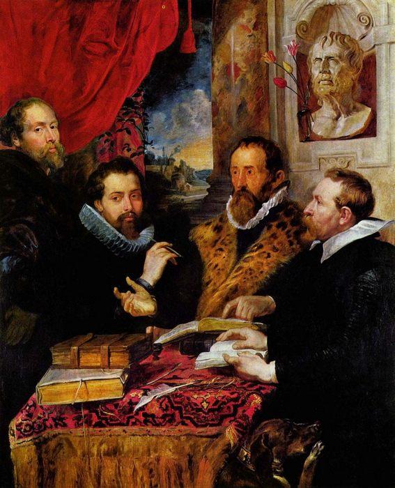 Питер Пауль Рубенс «Четыре философа», галерея Палатина - Разное фото