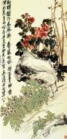 Китайская живопись, Гохуа - Пионы и жёлтые нарциссы