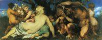 """Фото (репр. картины) для статьи: """"Ганс Макарт, картины в стиле эстетизм - мифологическая живопись, портреты, аллегории"""""""