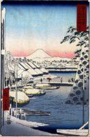 """Фото (репр. картины) для статьи: """"Хиросигэ Утагава - художник укиё-э (японская живопись)"""""""