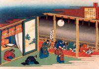 """Фото (репр. картины) для статьи: """"Японская живопись Кацусика Хокусая"""""""