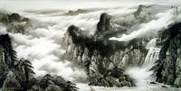 Китайская живопись, Гохуа - Путешествие через горы