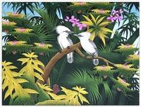 Современная живопись Индонезии - Счастливая парочка