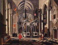 Готика ( интерьер, декор) - Могила Уильяма Тихого в  Церкви Преображения