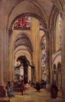 Готика ( интерьер, декор) - Интерьер кафедрального собора